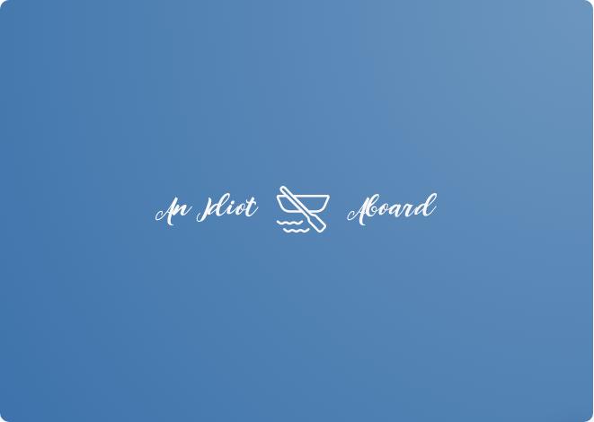An Idiot Aboard Logo